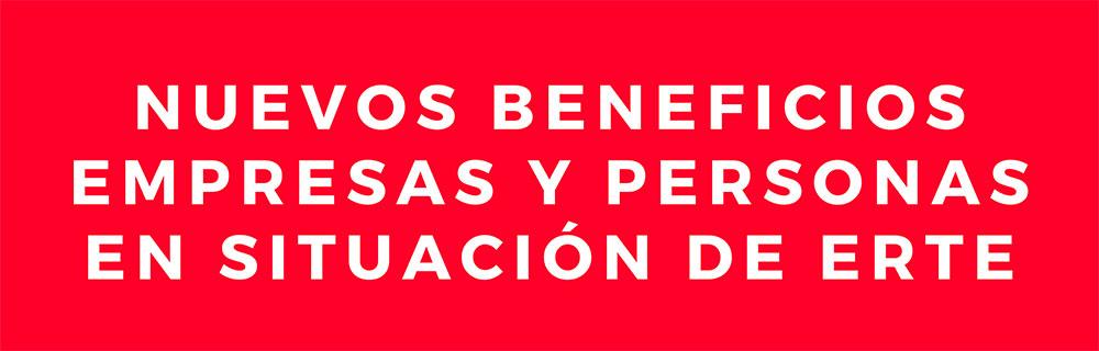 Buevos beneficios para empresas y personas en situación de ERTE. Gesfor S.L. Jerez.